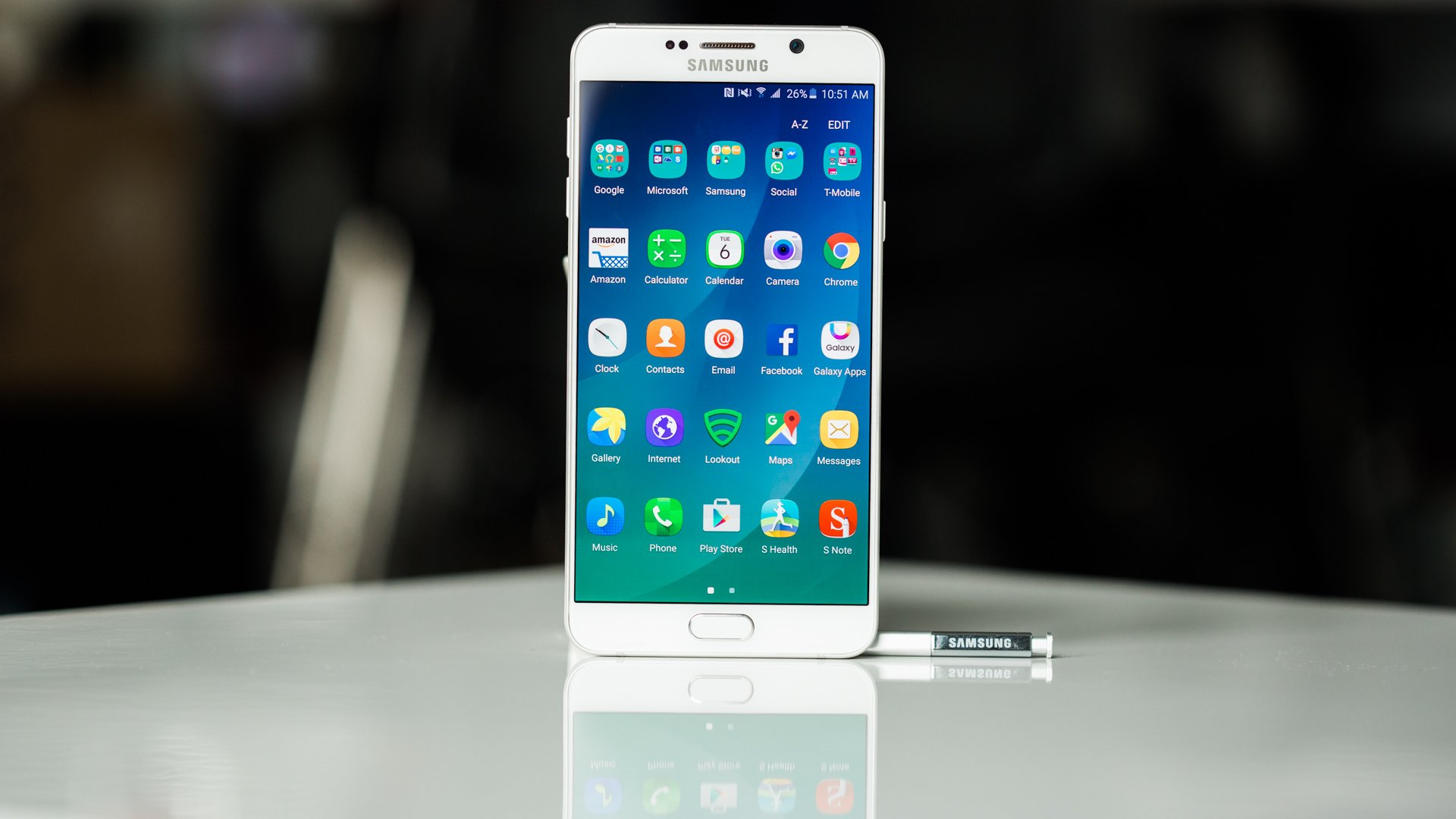 Samsung Galaxy Note 5, 2015. Image credit: Android Pit