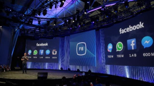 Facebook F8 2015 conference.