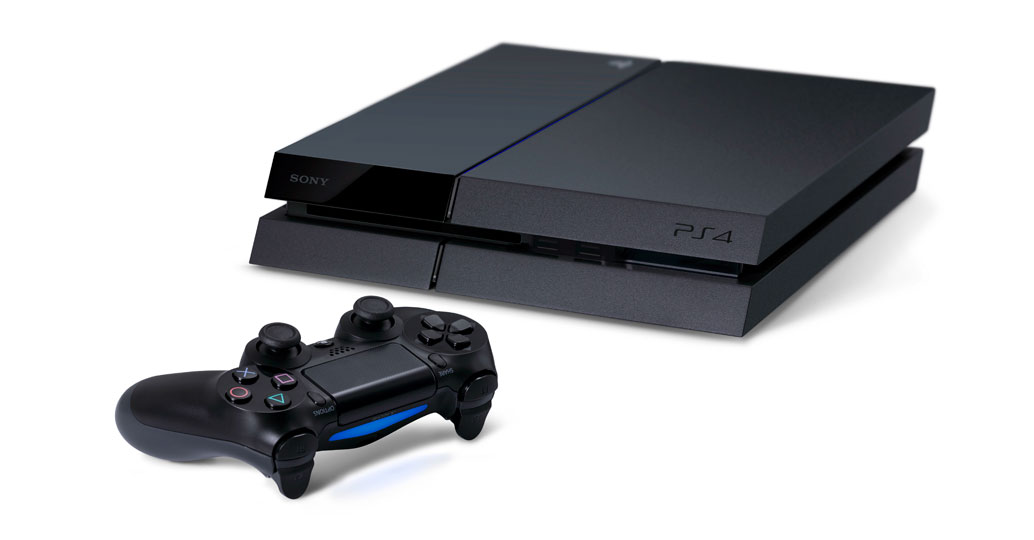 Sony Computer Entertainment flagship product, PlayStation 4 video gaming console.