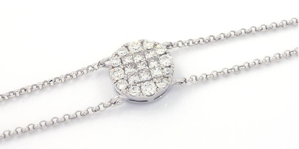 0.38-Ct-18K-White-Gold-Diamond-Bracelet