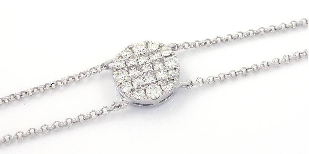 0.38-Ct-18K-White-Gold-Diamond-Bracelet