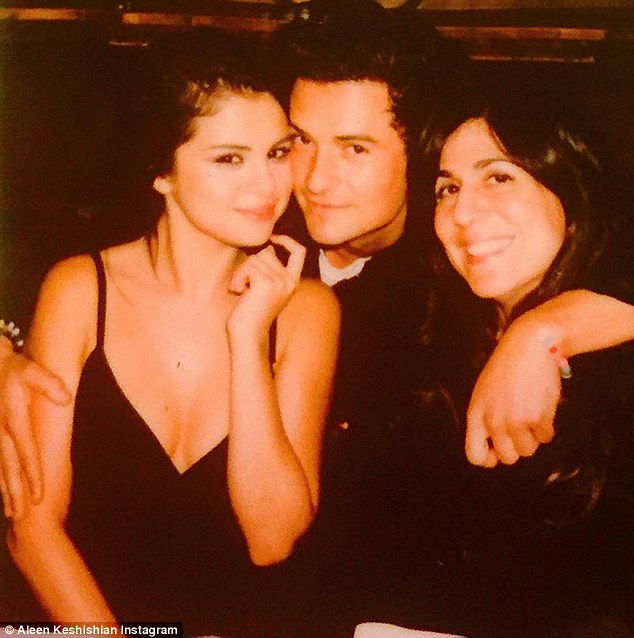 Orlando Bloom selena Gomez