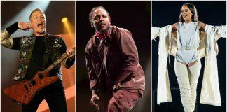 Rihanna Metallica Kendrick Lamar Global Citizen Festival 2016