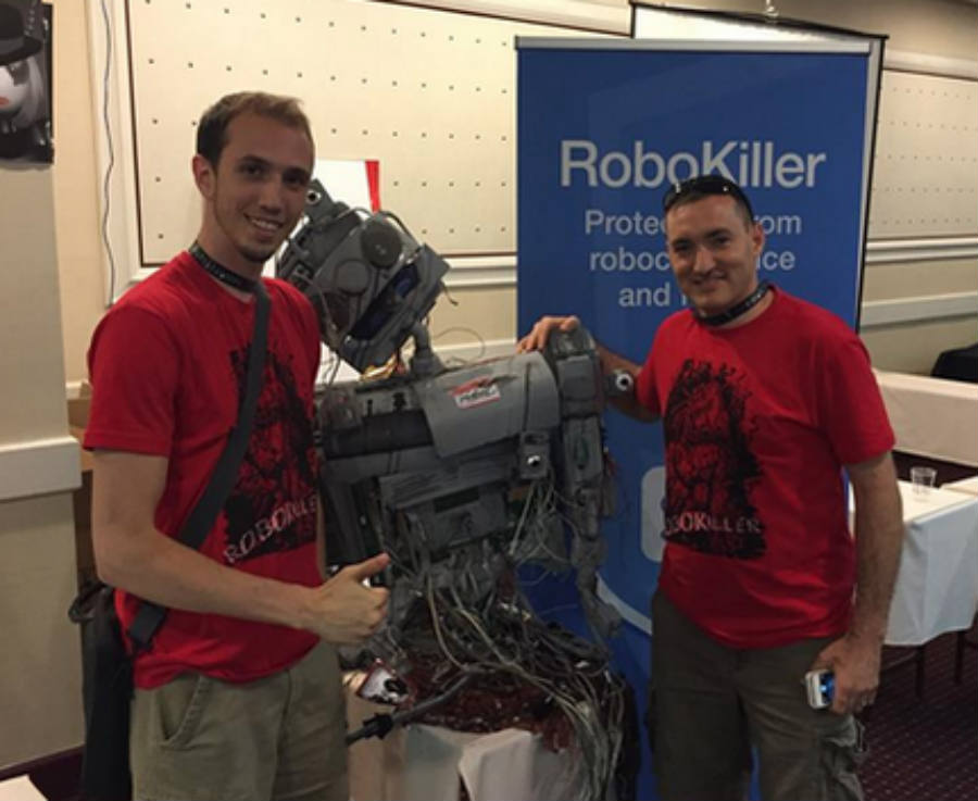 Team RoboKiller wins Robocalls: Humanity strikes back contest. Credit image: FTC.