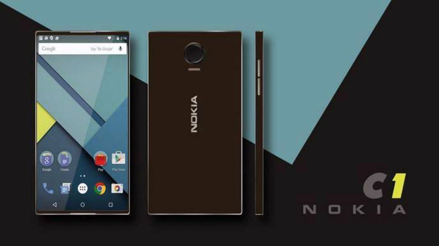 Android C1 from Nokia. Image Credit: PC Mag
