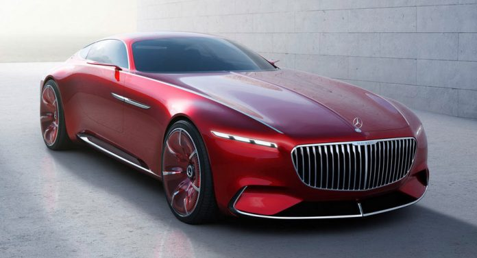 Mercedes Benz New Concept Car Can Be Remote Controlled