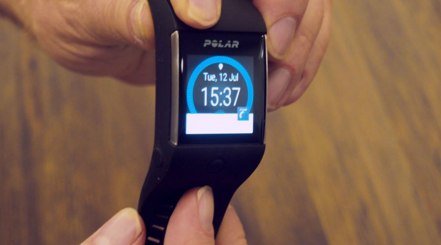 Polar's main goal with the smartwatch is to show more accurate information to the user. Image Source: TechCrunch