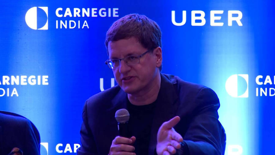 Brian McClendon is one of the men behind Uber's global mapping project