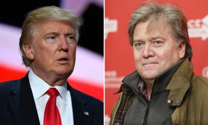 Donald Trump, Stephen Bannon, Elections 2016