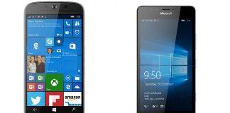 High-end Windows phones Lumia 950 vs. Liquid Jade Primo