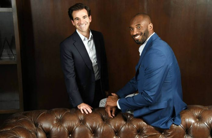 Jeff Stibel-Kobe Bryant-unveil-100m-fund