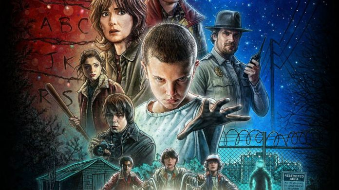 Kyle Lambert uses iPad Pro to make Stranger Things poster