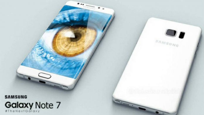 Samsung unveils Galaxy Note 7's specs and release date