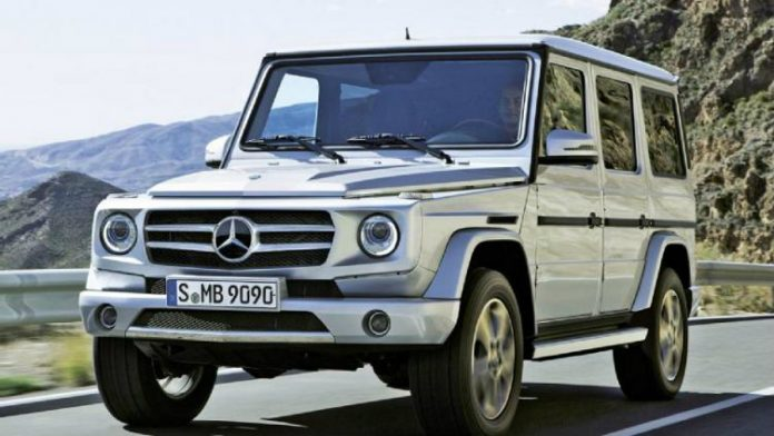 Mercedes benz new g class suv prototype spotted in germany for Mercedes benz support number