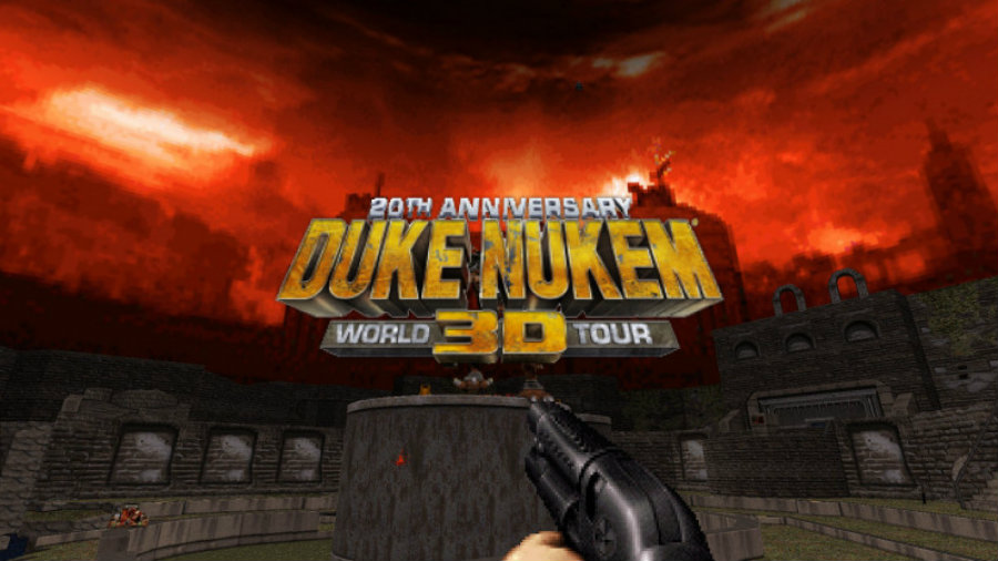 The remastered edition is called Duke Nukem 3D: World Tour. Image Source: Zero Nerve
