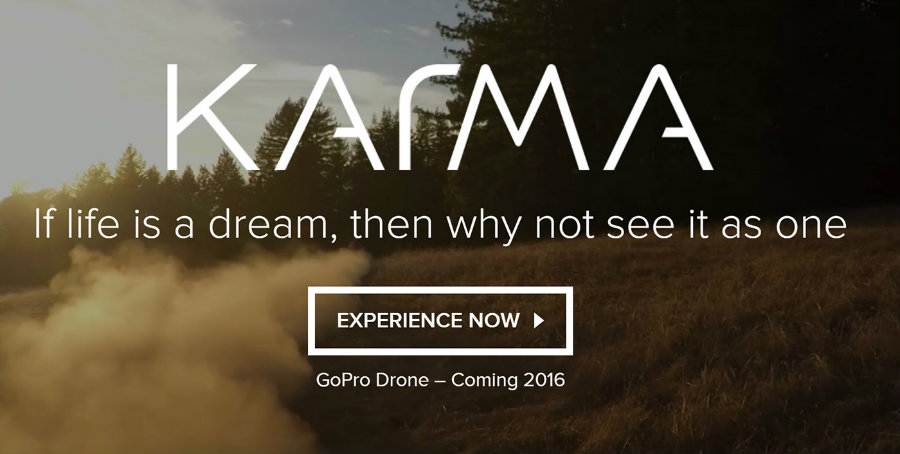 The Karma drone's functionality very limited and will require users to pay full attention when flying it in diffult terrain. Image Source: GoPro