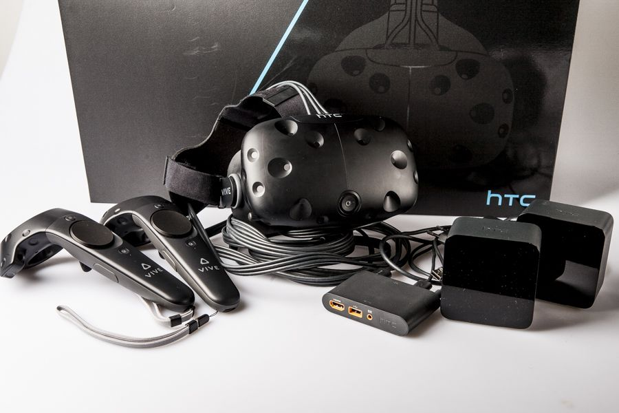 The HTC Vive VR headset is now available for purchase on Amazon.com. Image Source: Game Kult