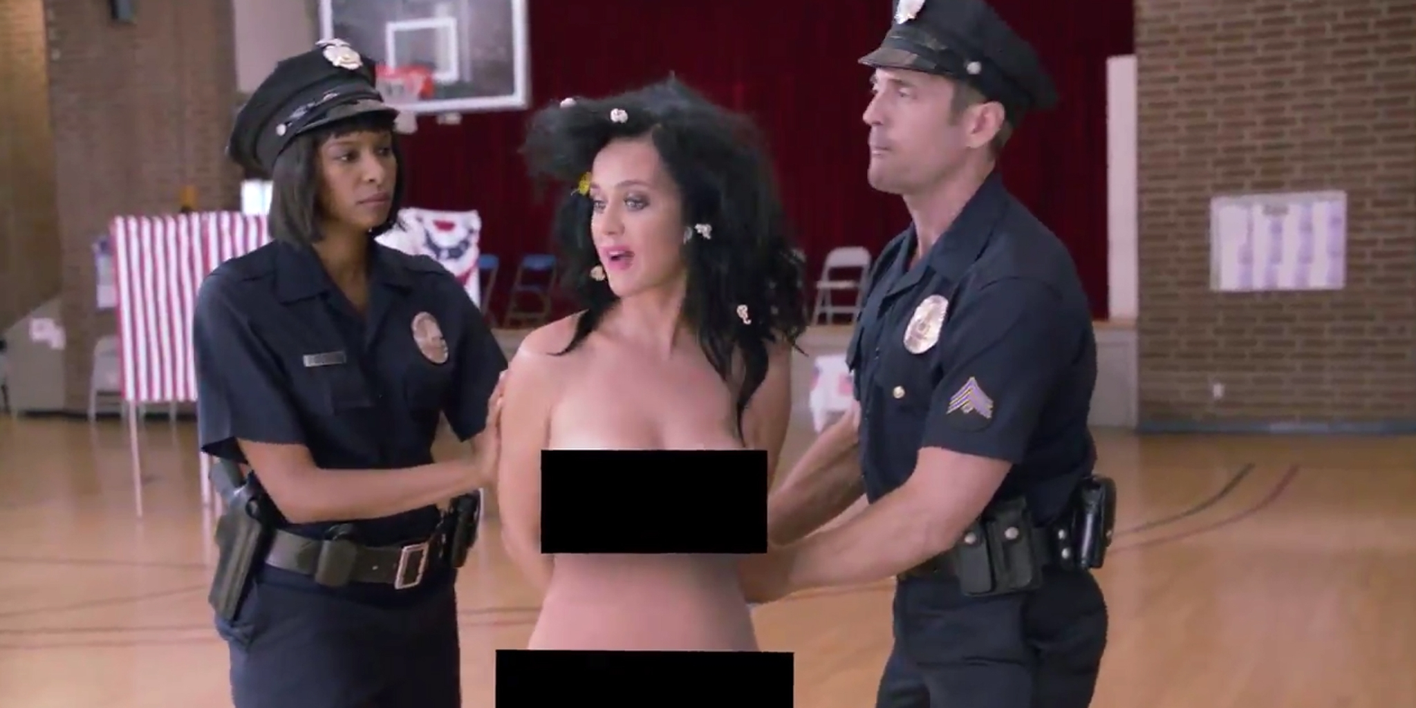 Katy perry vote video naked-8358