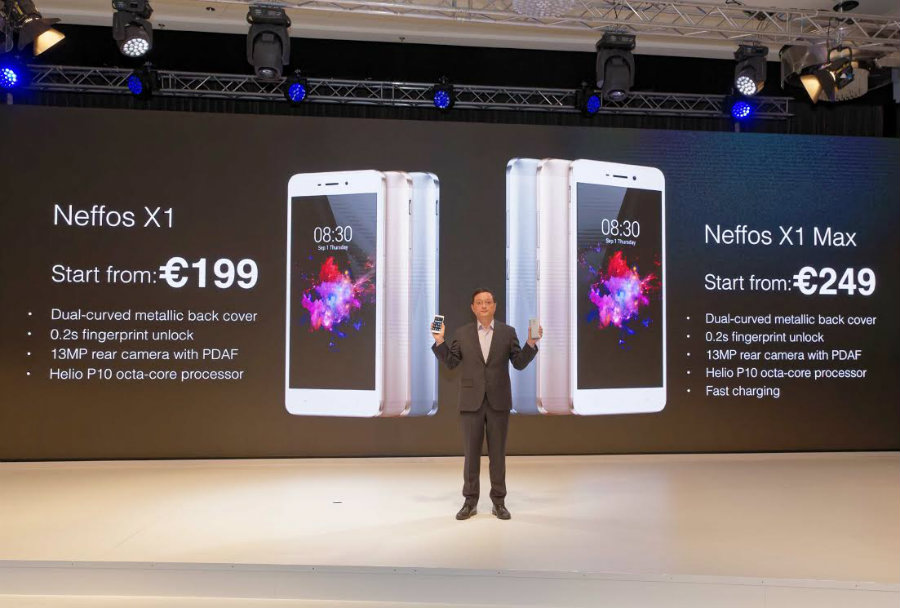 Both smartphones from Neffos were presented earlier this month at the 2016 IFA. Image Source: News Crab