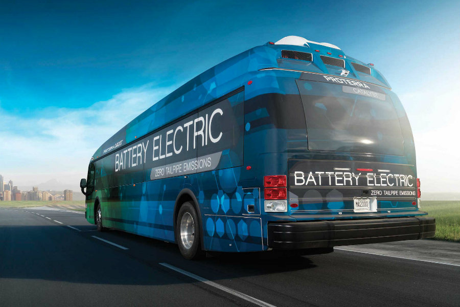 Proterra was founded over ten years ago in 2004 and started manufacturing electrical buses five years later in 2005. Image Source: Business Insider