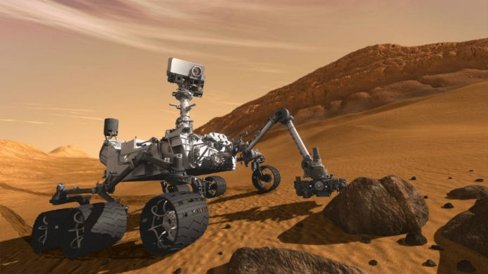 A teenager becomes part of NASA's Mars landing team