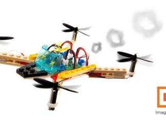 Flybrix lets you create your own home-made drone with LEGOs