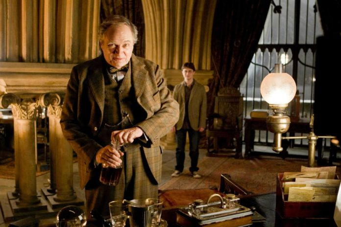 Jim Broad bent was Horace Slughorn in Harry Potter the Half-Blood Prince.