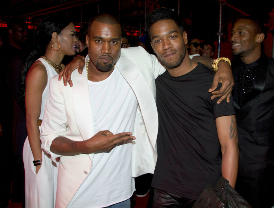 Kanye West helped Kid Cudi start his career