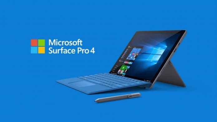 Microsoft Surface Pro 4 Promotion