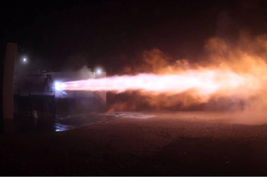 SpaceX-Elon-Musk-Raptor firing