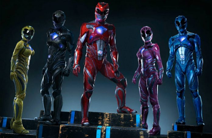 The Power Rangers' reboot gets 5 new posters