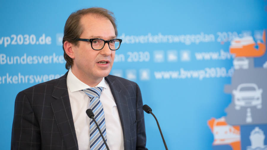 Transport and Digital Infrastructure, Alexander Dobrindt, announces Germany's plans of a 5G nationwide network.