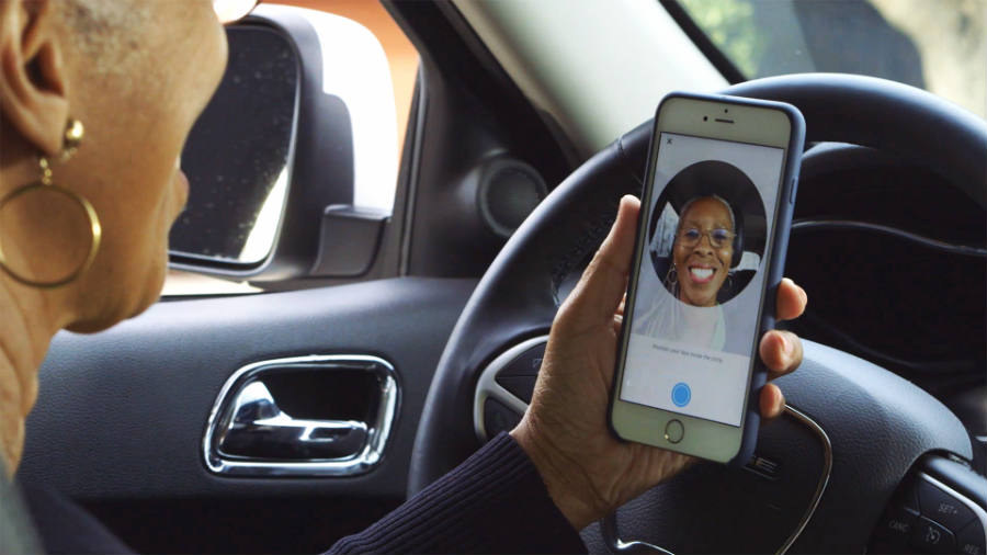 Uber launches a selfie app to avoid identity theft.