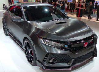 Watch Honda's Civic Type R prototype