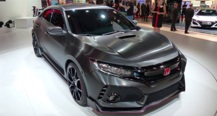 Watch Honda's Civic Type R prototype