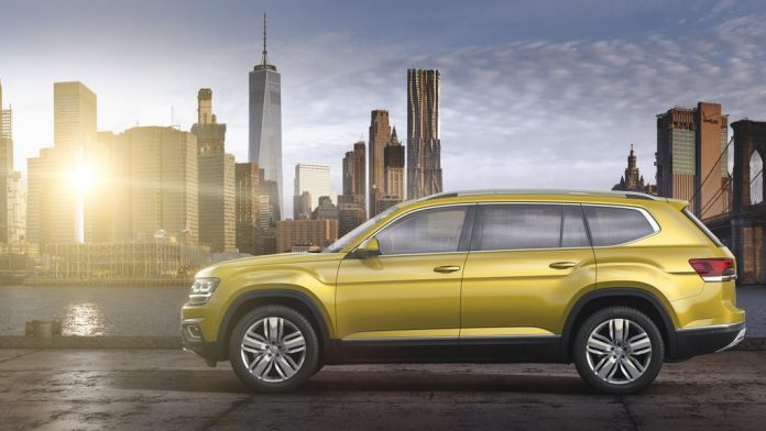 Atlas 2018, Volkswagen's biggest SUV for the American Market