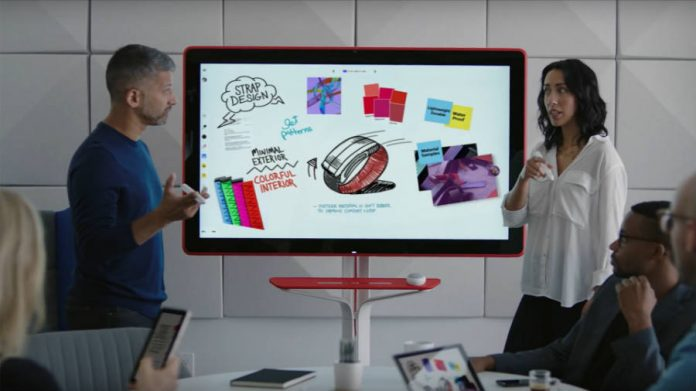 Google presents the Jamboard, the whiteboard of the future