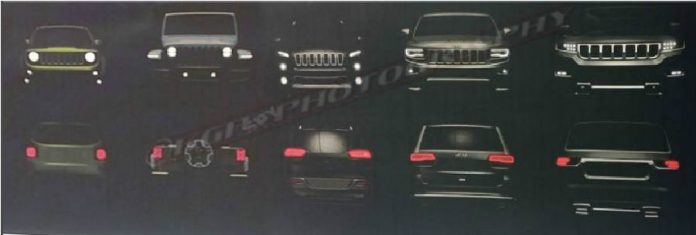 Grand Wagoneer 2019 & Jeep Wrangler 2018 sneak peek
