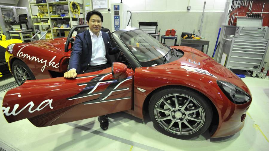Hiroyasu Koma, GLM's founder and CEO.