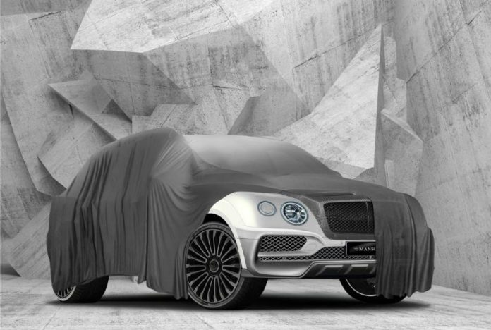 Masonry's Bentley Bentayga will debut at the SEMA 2016