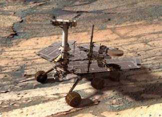 NASA Opportunity Mars rover will explore fluid-carved gully