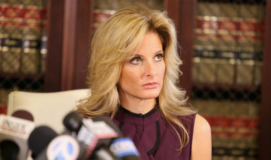 Summer Zervos, ex- Aprentice contestant, also accused Trump of improper behavior.