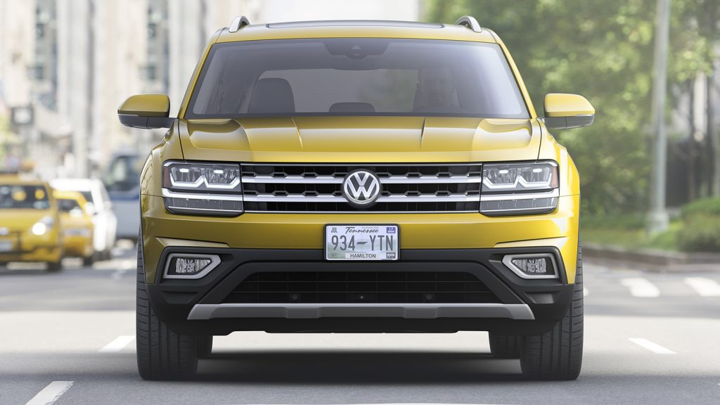 Volkswagen Atlas 2018 preview.