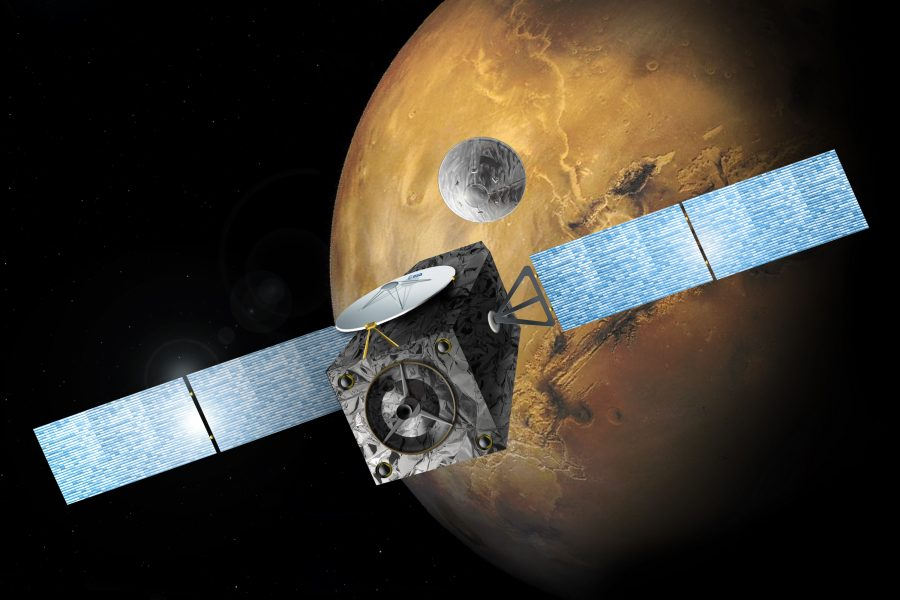 TGO will begin atmospheric mapping in 2017. Image Source: ESA