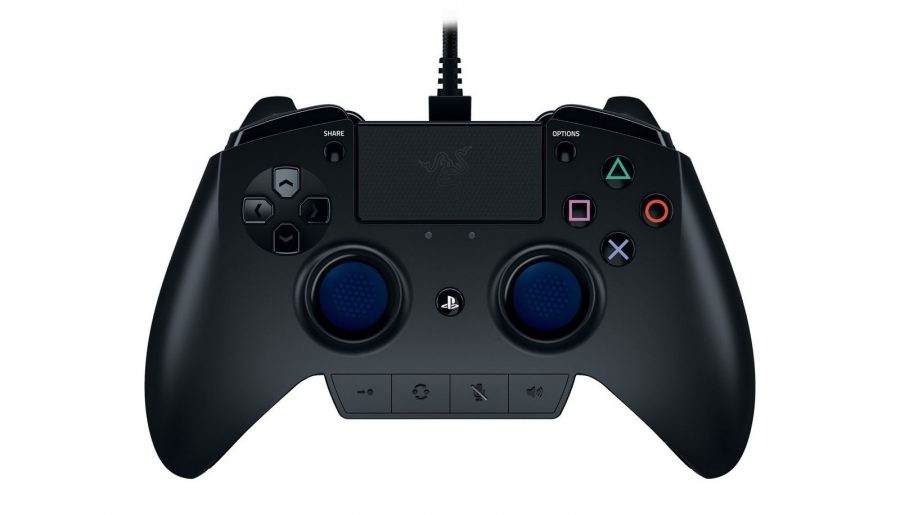 Raiju's new professional controller intends to fill the gap PS4 didn't. Image Source: Razer