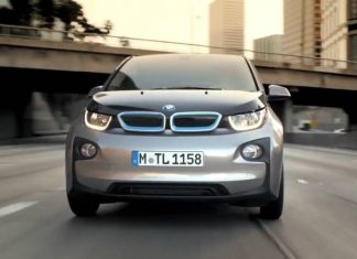 BMW i3 Electric Car.