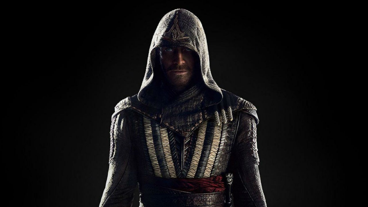 Michael Fassbender's first look as Ezio Auditore. Image: IGN.