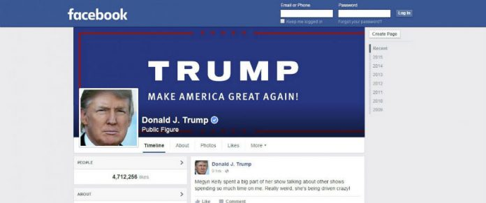 Facebook could have helped Donald Trump win the elections.