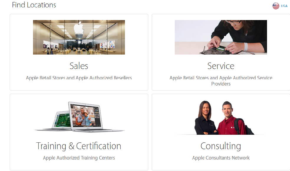 Find the nearest official retailer at Apple's official site. Image: Apple.