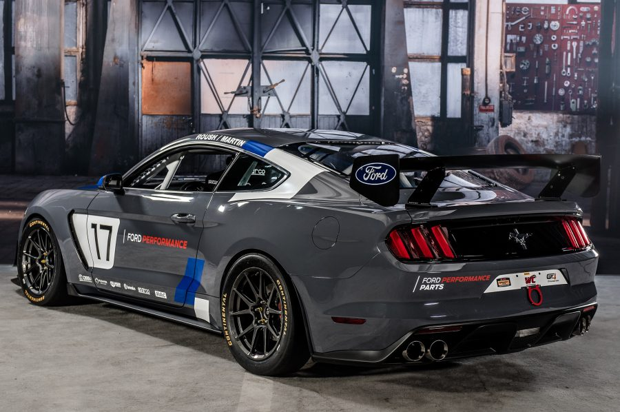 The 2016 SEMA was the host for the new Mustang GT4 race car from Ford Motors. Image Source: Motor Trend